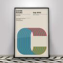Poster para COMITÉ estudio. Um projeto de Design gráfico de Yeray Vega Fernandez de Labastida - 13.10.2017