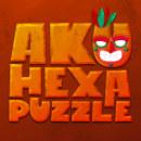 Aku Hexa Puzzle. Un proyecto de Diseño, UI / UX, Dirección de arte, Diseño de personajes, Diseño de juegos y Diseño gráfico de Daniel Peña Antón - 13.10.2017