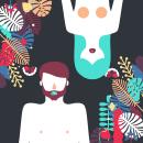 Humans | LGBTQ Animation. Um projeto de Ilustração, Motion Graphics, Animação, Design gráfico e Ilustração vetorial de Ángel Vera - 30.04.2017