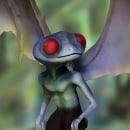 Concept art - 3D creatura de novela grafica. Un proyecto de 3D y Diseño de personajes de Alejandro Figueroa - 22.07.2014