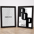 Posters tipográficos . Um projeto de Design gráfico de Mariana Alemanno - 28.10.2016