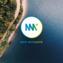 Branding e Identidad   New Mondays . Um projeto de Br, ing e Identidade, Direção de arte e Design gráfico de blarestudio   The Hacienda must be built - 30.10.2017