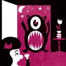 """Mi Proyecto del curso: Ilustración original de tu puño y tableta, canción """"Unfounded Revenge"""". Um projeto de Ilustração de Andres Gómez - 03.11.2017"""