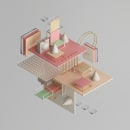 ISOMETRIC SHAPES Vol. I. A Illustration, 3D, and Art Direction project by Javier Torres - 11.03.2017