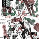 Contraporta revista Ekintza Zuzena. Un proyecto de Ilustración de Adam Kozinski - 27.11.2016