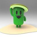cactus. Un proyecto de 3D y Animación de personajes de Marcos Rocke Vargas - 20.11.2017