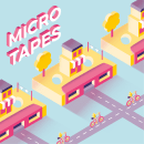 Micro Tapes. A Design, Illustration, Grafikdesign, T, pografie und Vektorillustration project by Silvia Rojas - 20.11.2017
