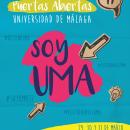 Jornadas de Puertas Abiertas - UMA 2017. Um projeto de Design, Ilustração, Fotografia, Cinema, Vídeo e TV, Design gráfico e Social Media de Vanesa Bueno Sánchez - 22.04.2017
