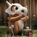 Cubone 3D. Um projeto de 3D de Rigoberto López Ordóñez - 24.11.2017