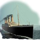 Infografía del Naufragio del Titanic - Ilustraciones realizadas en Adobe Illustrator. Um projeto de Ilustração, Ilustração vetorial e Infografia de Ale Fisichella - 26.11.2017