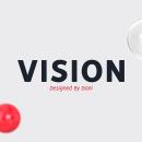 VISION - FREE FONT FAMILY . Um projeto de Design gráfico e Tipografia de bydani - 27.11.2017