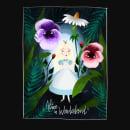 Alice in Wonderland. A Editorial Design & Illustration project by Lorena Sánchez Román - 11.28.2017