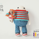 Coco and Pipa, story of two friends. Un proyecto de Diseño de personajes, Diseño de juguetes y Pattern Design de Maria Sommer - 06.12.2017