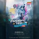 "Poster ""Portadores de Vida y Esperanza"". Um projeto de Design, Publicidade, Design gráfico, Lettering e Retoque fotográfico de Cristian Vera - 12.12.2017"