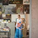Compré postales de David Hockney. Un proyecto de Fotografía, Dirección de arte y Moda de Lucia GR - 19.12.2017