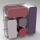 Carmen: Mueble de cocina multifuncional . Un proyecto de Diseño de muebles y Diseño de producto de Marina Pérez Roca - 23.07.2017