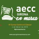 "Vinilo Bus ""IV Cursa Contra el Càncer Girona en Marxa"". A Design, Illustration, Multimedia, and Lettering project by Adrià Salido Zarco - 12.22.2017"