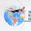 COPA AIRLINES - The History Channel - MARCAS QUE HACEN HISTORIA. Um projeto de Animação e Motion Graphics de Diego Mundarain - 14.10.2017