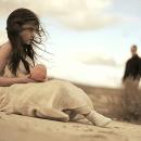 En la Distancia - Cripta. Un proyecto de Cine, vídeo, televisión, Música y Audio de Violeta Barca-Fontana - 08.02.2010