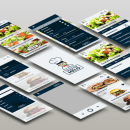 Cocina con Melo- App. Um projeto de Design gráfico e Design interativo de Andrea Teruel - 11.07.2017