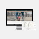Andrea Arden. Um projeto de UI / UX, Direção de arte, Arquitetura da informação e Web design de Gemma Busquets - 09.01.2018