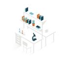 Cedars Sinai Technology Transfer. Um projeto de Design gráfico, Ilustração e Ilustração vetorial de Gemma Busquets - 09.01.2018