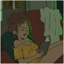 Serie Habitaciones. IV. Um projeto de Design de personagens e Ilustração de Marta Fernández - 10.01.2018