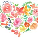 Flor de corazón!. Un proyecto de Ilustración de Alejandro Bottini - 17.01.2018