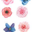 Flores. Un proyecto de Ilustración de Alejandro Bottini - 17.01.2018