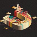 Revista UBÚ. Un proyecto de Dirección de arte, Diseño editorial e Ilustración vectorial de Ulises Martín Martín - 22.10.2017