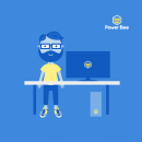 Power Bee. Um projeto de Br e ing e Identidade de Tip Tip Studio - 22.01.2018