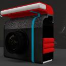 Gadget - Camera. Un projet de 3D, Création d'accessoires, Design graphique , et Web Design de Fernando Yoris - 28.01.2018