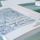 DISEÑO Y MAQUETACIÓN MEMORIA. omau, proyectos europeos.. Um projeto de Design editorial, Design gráfico e Tipografia de Manuel J. Morente Morente - 31.01.2018