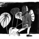 El Paseo: Introducción a la ilustración con tinta china: . Um projeto de Ilustração de Lina Yumi Traspaderne - 12.02.2018