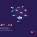 LG Billboard. A Editorial Design, Graphic Design, and Vector Illustration project by Miguel Bucana - 02.19.2018