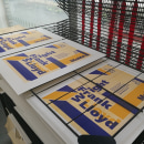 Proyecto de póster para la exposición de Frank Lloyd Wright del MoMA. Um projeto de Design, Eventos, Design gráfico e Serigrafia de Júlia Rodríguez Castellví - 12.03.2017