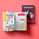 :animum Magazine #1. Um projeto de Design, Ilustração, 3D, Animação, Direção de arte, Design editorial, Design gráfico e Ilustração vetorial de Ángel Vera - 14.09.2017