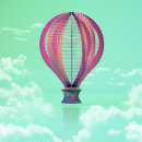 Balloon Sky. A 3-D und Illustration project by Marc Bupe - 21.03.2018