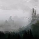 Over the Woods. A Illustration project by Juan Pérez Soler - 03.28.2018