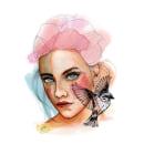 Retrato ilustrado en acuarela por Diego de Caxias. Um projeto de Ilustração de Diego de Caxias - 03.04.2018