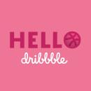 Hello Dribbble | First Shot. Um projeto de Design, Motion Graphics, Animação e Tipografia de Jona Flores - 03.04.2018