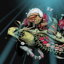 Sushi maker. Un proyecto de Ilustración, Diseño de personajes y Bellas Artes de Dhani Barragán - 16.04.2018