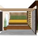 Fachada y Jardín. Un proyecto de Arquitectura interior de Diana Rodríguez - 25.04.2018