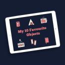 Mis 10 cosas favoritas. Um projeto de Ilustração, Motion Graphics e Design gráfico de Ángel Vera - 28.04.2016