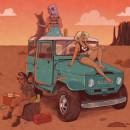 Road girls. Um projeto de Design de personagens, Ilustração e Ilustração digital de Marta Fernández - 02.05.2018