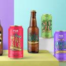 Fem Beers. Un progetto di Illustrazione, Graphic Design, Packaging , e Lettering di Mara Rodríguez Rodríguez - 03.05.2018