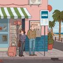 Proyecto con Roberto Corroto. A Comic, Illustration, and Digital illustration project by Amelia Navarro Abad - 05.05.2018