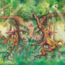 NINFAS. Um projeto de Ilustração, Artes plásticas, Pintura, Criatividade, Desenho e Pintura em aquarela de Henar Jiménez Martín de Villodres - 10.05.2018