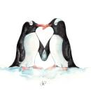Amor pingüino. Um projeto de Ilustração de Henar Jiménez Martín de Villodres - 10.05.2018