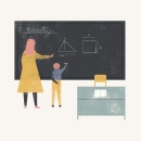 Back to school. Un proyecto de Ilustración y Animación de Sandra Rilova - 14.05.2018